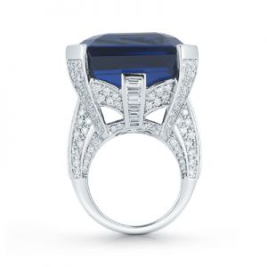 Tanzanite Octagon Ring