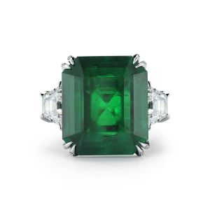 Emerald and Diamong Ring
