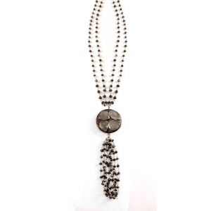 Diamond Tassle Necklace