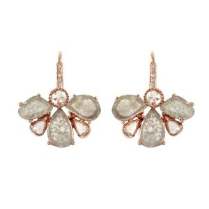 Slice Diamond Earrings