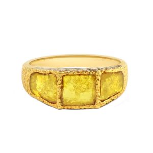 Slice Diamond Ring