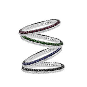 Light and Shadow Stackable Rings