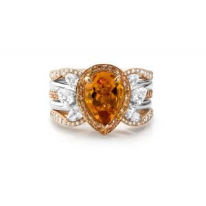 Citrine Stacking Rings