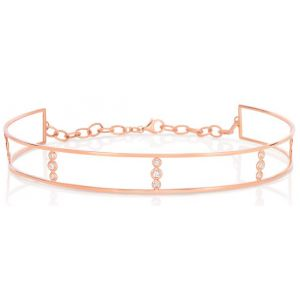 Rose Gold Choker