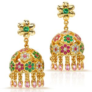 Flower Pagoda Earrings