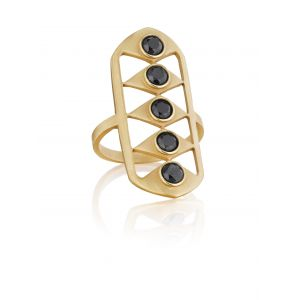 Black Diamond Gladiator Ring