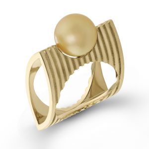 Beolli Pillow Pearl Ring