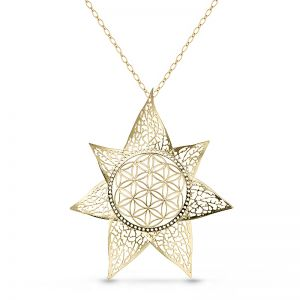 Star Flower Necklace
