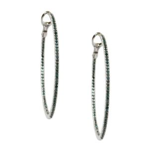 Mary Hoop Earrings