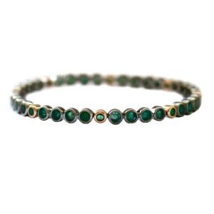 Brooks Emerald Bangle