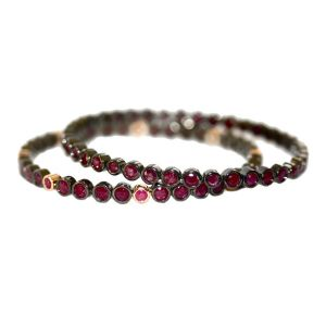 Brooks Ruby Bangle