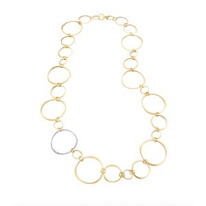 Halo Linked Necklace