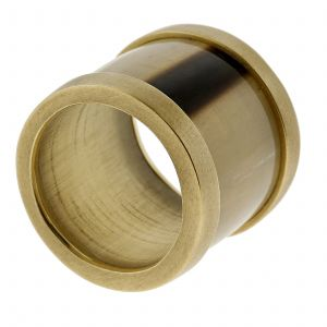ZIYA Cigar Band Horn Ring