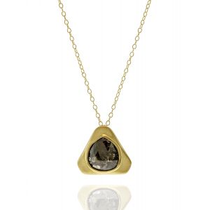 Black Diamond Teardrop Pendant