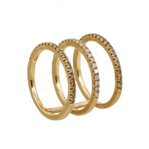 Harmonic Triple Bar Ring