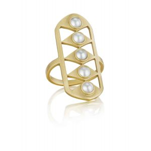 Pearl Gladiator Ring