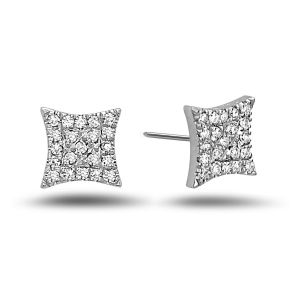 Diamond Pave Star Earring