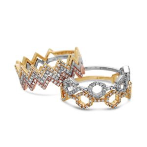 Diamond Stackable Rings