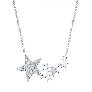 Diamond Stars Pendant