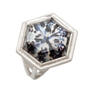 McKinzie Hexagon Ring