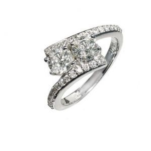 Two-Stone Diamond Ring