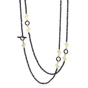 Onyx Foglia di Mare Necklace