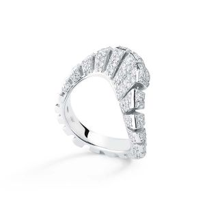 Diamond Ventaglio Ring