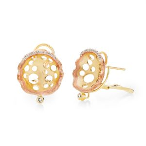 Open Lily Studs