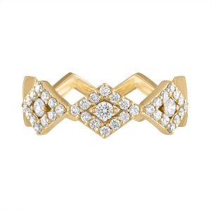 Diamond Lucia Pave Eternity Band
