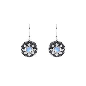 Pamela Zamore Lotus Drop Earrings