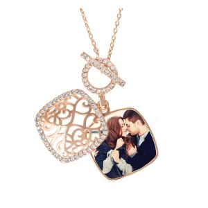 Amelia Locket Pendant Necklace