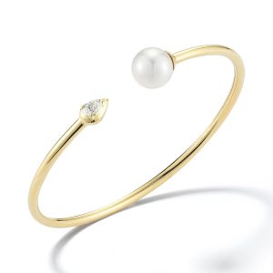 Kerrin Pearl and Diamond Cuff