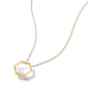 Hexa Japanese Akoya Pearl Necklace