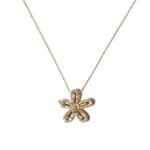 Juju Flower Charm Necklace