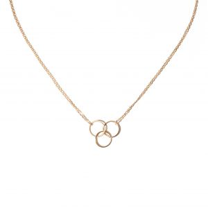 The Crew Triple Circle Necklace