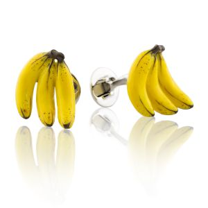 Triple Banana Cufflinks