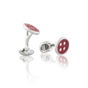 Red Button Cufflinks