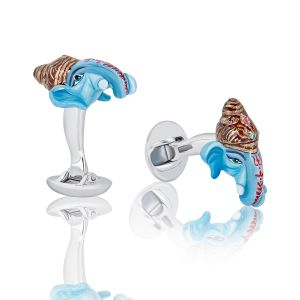 Colorful Elephant Cufflinks