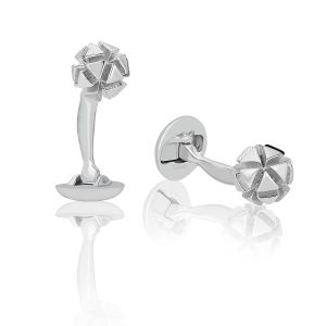 3D Sphere Cufflinks