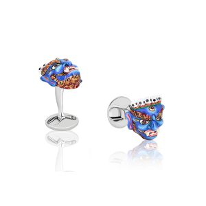 Colorful Mask Cufflinks