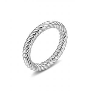 Unisex Tecum Sterling Silver Ring