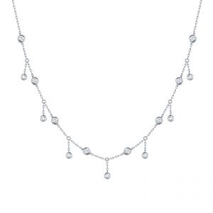 Bubbly Lab Grown Diamond Necklace