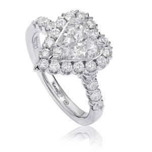 Crisscut® Heart Shape Engagement Ring